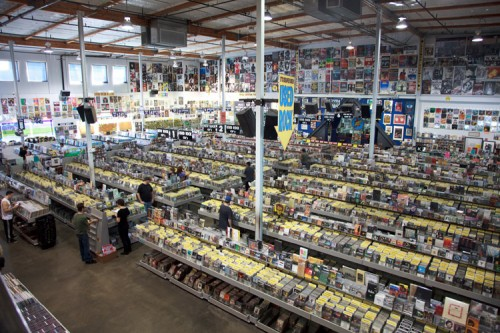 Amoeba Music Store Halle - L.A.