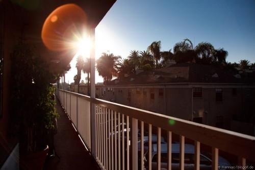 Los Angeles Morgensonne