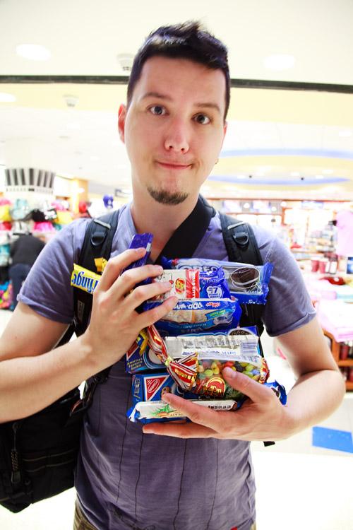 Süßigkeiten aus den USA
